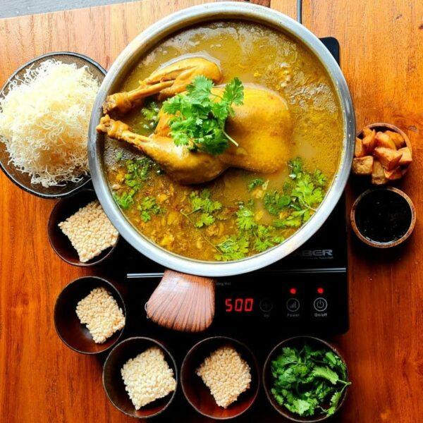 Sup Kambing + Whole Kampung Chicken Soup Combo