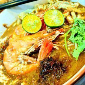 Ah Lau Food King   Laksa Sarawak2