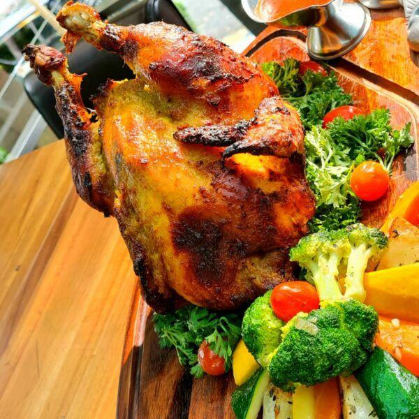 Limpeh Macam Turkey but Better Roast Kampung Chicken Set